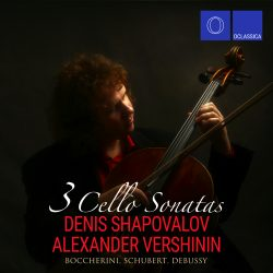 Boccherini, Schubert, Debussy: 3 Cello Sonatas