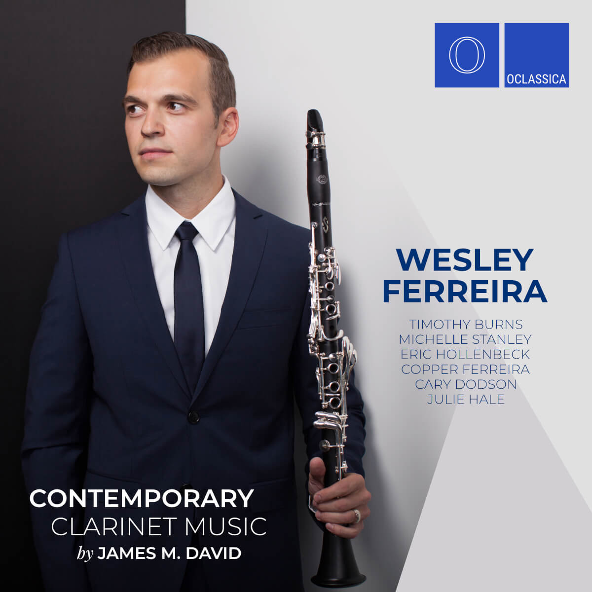 Contemporary Clarinet Music by James M. David – Wesley Ferreira